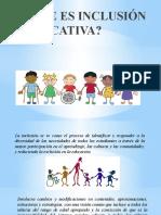 QUE ES INCLUSIÓN EDUCATIVA CAPACITACION ABC