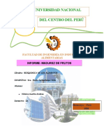 INFORME  MADUREZ DE FRUTOS BIOQUIMICA DE LOS ALIMENTOS