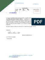 Certificado de alex escolta