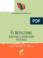 El bilingüismo. Bases para la intervención psicológica.pdf