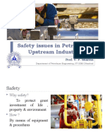 Safety issues in Petroleum Upstream Industry (16.6.2018)