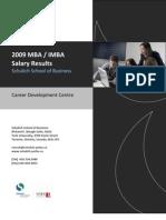 MBA Salaries