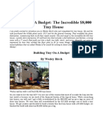 NOU Building On A Budget - The Incredible $8,000 Tiny House