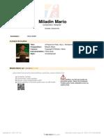 Miladin Mario - 4 Pieces - 1. Pensieroso