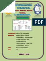 Trabajo de Analisis Estructural i (Grupo 1) - Doble Integracion - 2020