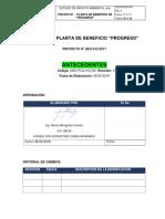CAP II. ANTECEDENTES DEL PROYECTO PLANTA DE BENEFICIO PROGRESO