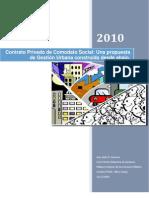 Jesus Govea_Contrato Privado de Comodato Social_Una propuesta de Gestión Urbana construida desde abajo.