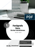 VACACIONES Y REMUNERACIONES ECUADOR