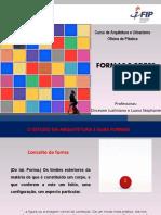 AULA - FORMAS E CORES