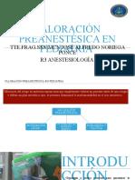valoracion preanestesica en pediatria