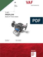 TIB-141-GB-0113 ProFlowmeters valid for serial numbers lower than 700000 (English)