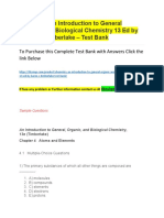 Chemistry an Introduction to General Organic and Biological Chemistry 13 Ed by Karen C. Timberlake – Test Bank