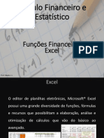 Funções Financeiras Excel