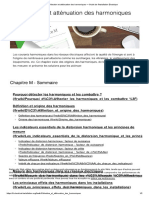 Détection et atténuation des harmoniques — Guide de l'Installation Electrique