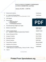 Handouts from ASSEC Exec Committee 18JAN2011