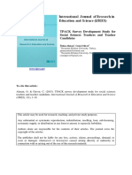 Akman, O. & Guven, C. (2015). TPACK survey development study for social sciences teachers and teacher candidates.pdf