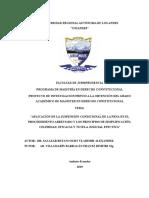 Aplicación de la suspensión condicional SALAZAR BETANCOURT