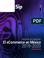 Reporte de industria del Ecommerce de Mexico 2019 - 2020