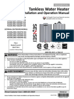 100000467-N Series Residential Condensing Installation and Operation Manual