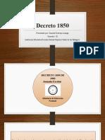 Daniela Restrepo Arango- Decreto 1850