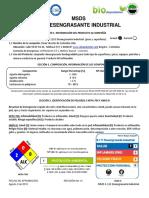 2 - msds - Desengrasante Industrial - S111G