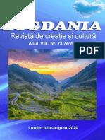 Revista Bogdania, Nr. 73-74, Iulie-August 2020