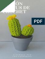 Ebook Patrón Cáctus de Crochet