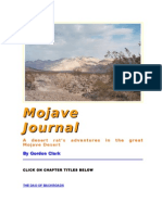 Mojave Journal