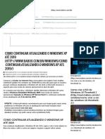 Como continuar atualizando o Windows XP até 2019 _ BABOO.pdf