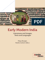 Early Modern India Literatures and Image