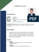 Curriculum Vitae Imer Aguilar