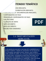 La Documentación Mercantil – Comprobantes de Pago