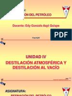 Presentacion de refinacion de petroleo Unidad IV.pdf