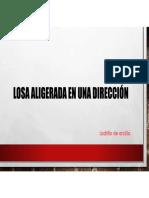 LOSA ALIGERADA