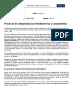 TALLER 6 VIRTUAL - PROCESOS DE INDEPENDENCIA EN NORTEAMÉRICA Y LATINOAMÉRICA.pdf