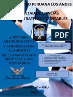 CARTA DE PRESENTACION DE AUDITORIA