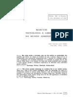 MARCUSE_Tecnologia e Liberdade No Mundo Administrado _Jõao_Lino .pdf