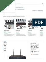 Kit Nvr 4 Cameras Wi Fi Sem Fio Ip Infra Hd 100m Cftv Infra - R$ 849,99 em Mercado Livre