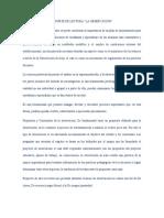 REPORTE DE LECTURA ealuacion psicologica