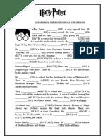simple-past-tense-harry-potter-worksheet