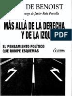 de Benoist, Alain - Más Allá de la Derecha y de la Izquierda (scan)