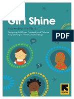Girl Shine Designing girl-driven GBV programs IRC 2018