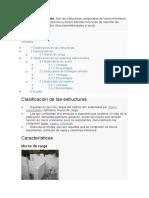 TECNOLOGIA (SISTEMAS ESTRUCTURALES)