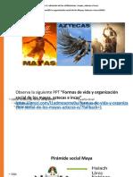 la sociedad inca, mayas y aztecas