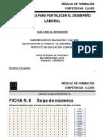 MATERIAL COMPETENCIAS CLAVES LÓGICA 1