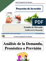 Sesión 3.2 PI - Estudio de Mercado - Pronósticos