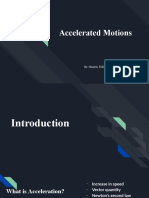Accelerated motion 2