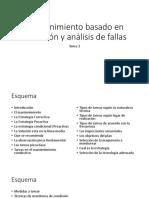 Mantenimiento basado en condición y análisis de fallas T3