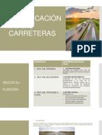 1.- CLASIFICACIÓN DE LAS CARRETERAS