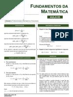 Aula 05_Porcentagem e matemática financeira